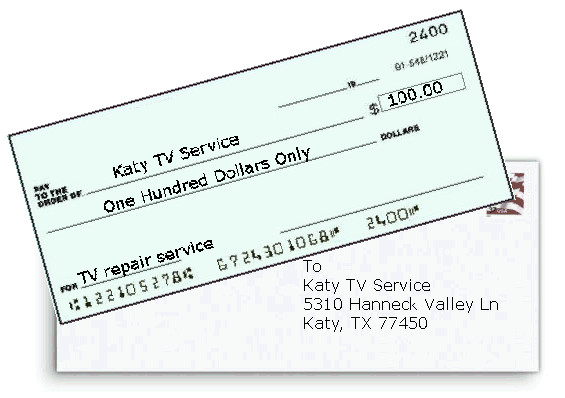 Payment Options Katy Tv Service